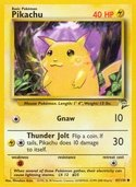 Pikachu from Base Set 2