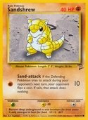Sandshrew from Base Set 2