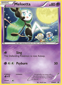 Meloetta from BW Promos
