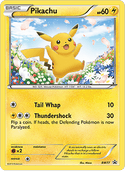 Pikachu from BW Promos