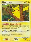 Pikachu from DP Promos