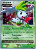 Shaymin LV.X from DP Promos
