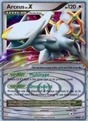 Arceus LV.X from DP Promos