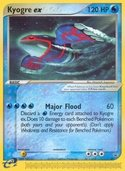 Kyogre ex from ex Promos