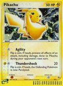 Pikachu from ex Promos