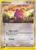 Whismur from ex Promos