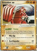 Groudon ex from ex Promos