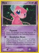 Mew from ex Promos