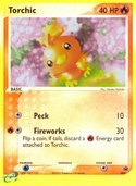 Torchic from ex Promos