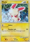 Plusle  from HGSS Promos