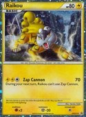 Raikou from HGSS Promos
