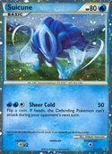 Suicune from HGSS Promos