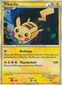 Pikachu from HGSS Promos