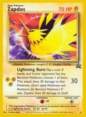 Zapdos from Black Star Promos (Wizards)