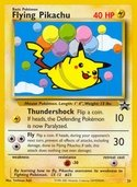 Flying Pikachu from Black Star Promos (Wizards)