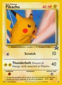 Pikachu from Black Star Promos (Wizards)