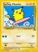 Surfing Pikachu from Black Star Promos (Wizards)