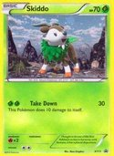 Skiddo from XY Promos