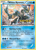 White Kyurem from XY Promos