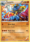 Lucario from XY Promos