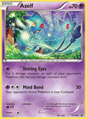 Azelf from XY Promos