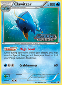 Clawitzer from XY Promos
