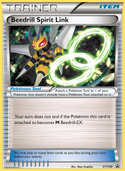Beedrill Spirit Link from XY Promos