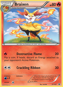 Braixen from XY Promos