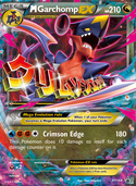 M Garchomp-EX from XY Promos