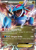 Salamence-EX from XY Promos