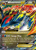 M Salamence-EX from XY Promos