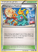 Champions Festival from XY Promos