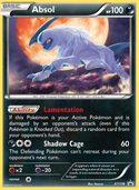 Absol from XY Promos