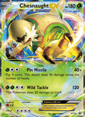 Chesnaught-EX from XY Promos