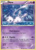 Mew from XY Promos
