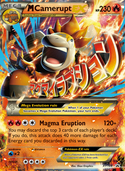 M Camerupt-EX from XY Promos