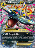 M Sharpedo-EX from XY Promos
