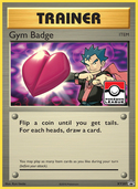 Gym Badge from XY Promos