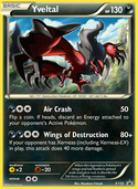 Yveltal from XY Promos