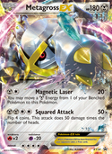 Metagross-EX from XY Promos