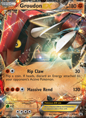 Groudon-EX from XY Promos