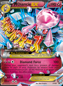 M Diancie-EX from XY Promos