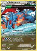 Salamence from XY Promos