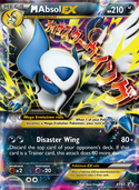 M Absol-EX from XY Promos