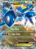 Latios-EX from XY Promos