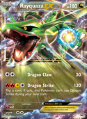 Rayquaza-EX from XY Promos