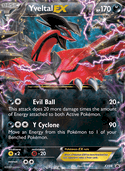 Yveltal-EX from XY Promos