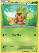 Chespin from XY Promos