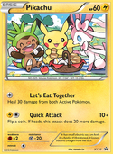 Pikachu from XY Promos