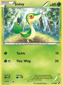 Snivy from Black and White